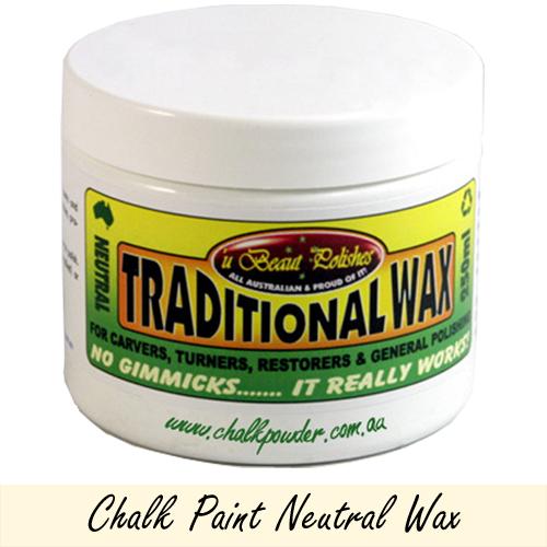 Chalk Furniture Paint Clear Neutral Wax