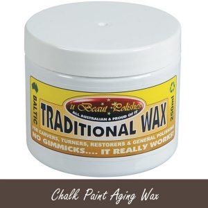 Chalk Furniture Paint Dark Aging Wax