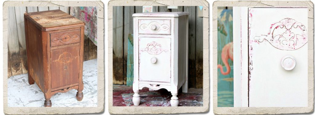 Chalk Paint Vaseling Distressed Furniture
