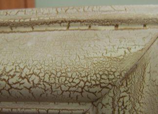 Chalk Painting Techniques Paint Crackle Finish
