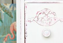 Chalk Painting Techniques Vaseline Distressed Furniture