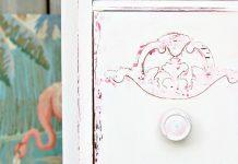 Chalk Painting Techniques Vaseline Distressed Furniture