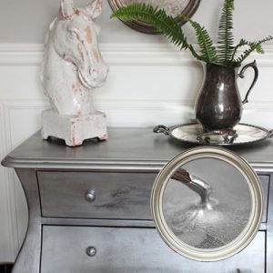 Chalk Furniture Paint Metallic Silver