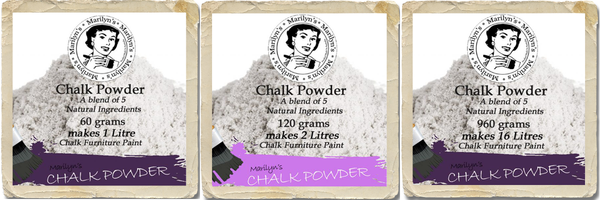 Chalk Paint Recipe using Marilyn's