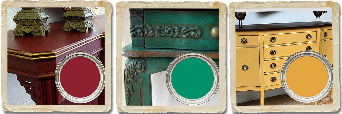 Australian Made Chalk Paint Colour Range