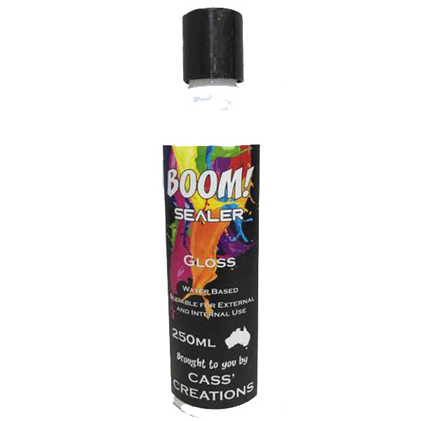 BOOM Gel Stain Gloss Sealer