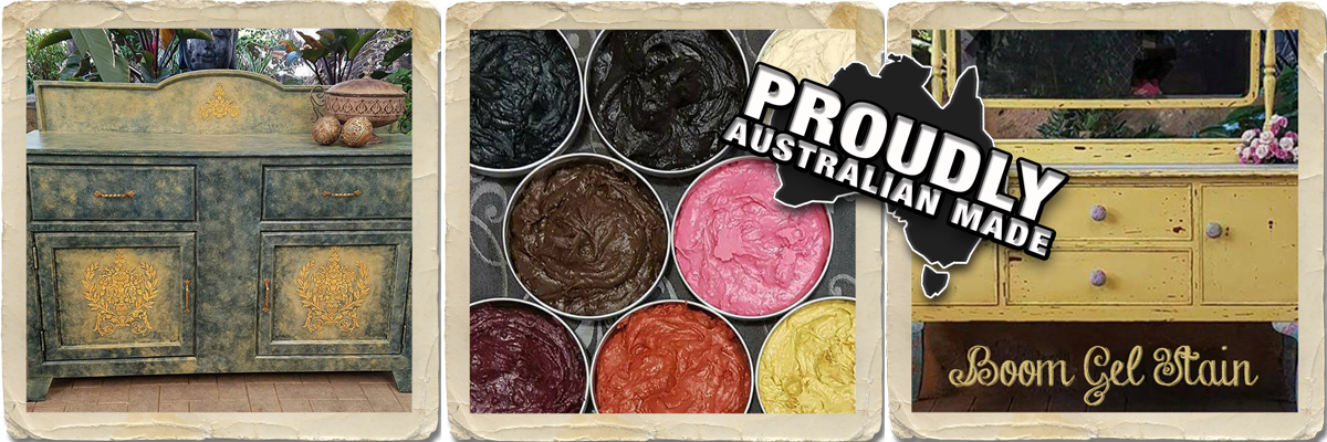 Boom Gel Stain Australian Made Craft Product