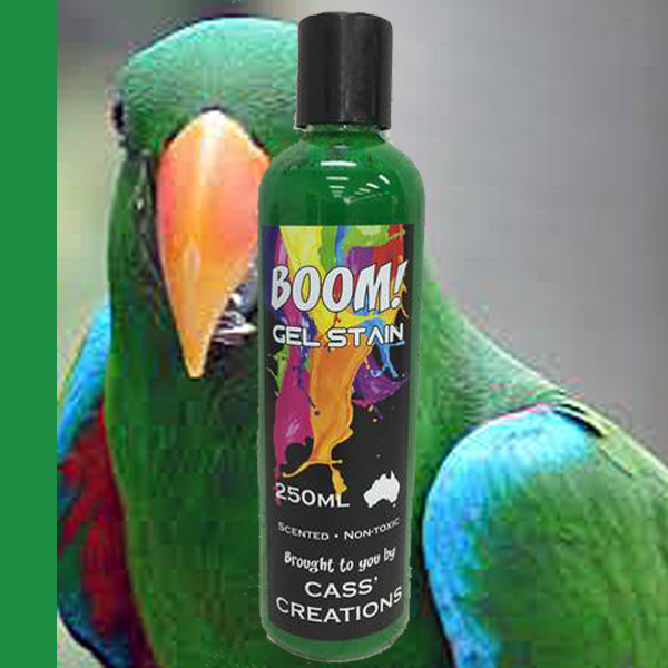 Boom Gel Stain Eclectus Green