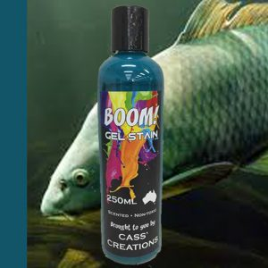 Boom Gel Stain Golden Fish Green