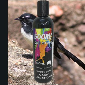 Boom Gel Stain Willy Wagtail Black