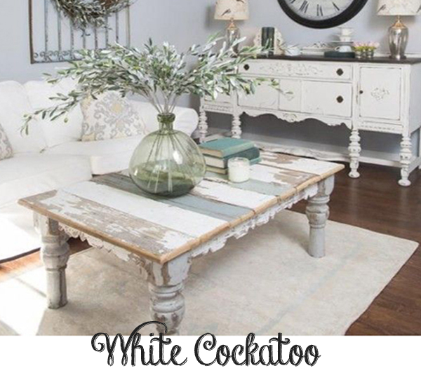 White Cockatoo Chalk Paint