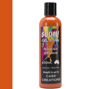 Boom Gel Stain Banksia Orange