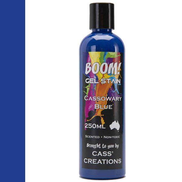 Boom Gel Stain Cassowary Blue