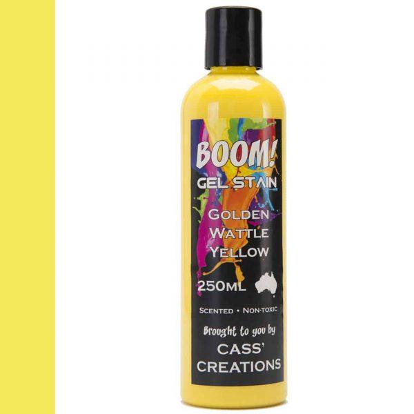 Boom Gel Stain Golden Wattle Yellow