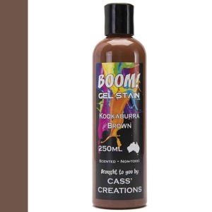 Boom Gel Stain Kookaburra Brown
