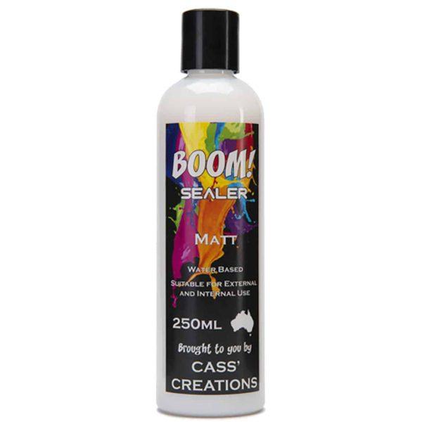 Boom Gel Stain Matte Sealer