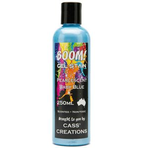 Boom Gel Stain Pearlescent Baby Blue