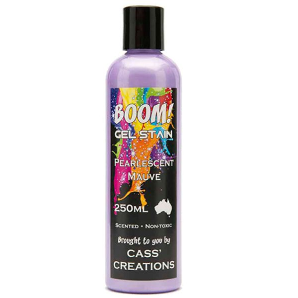 Boom Gel Stain Pearlescent Mauve