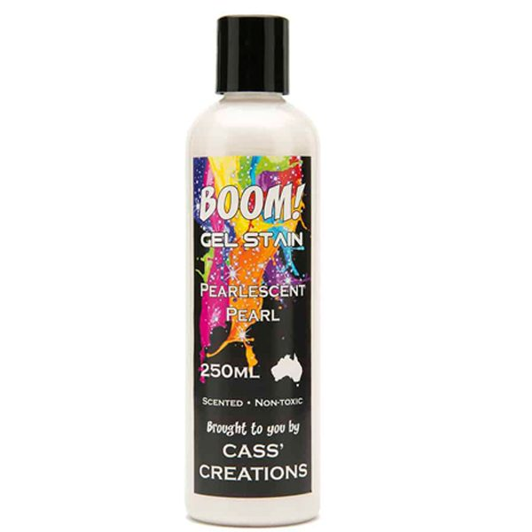 Boom Gel Stain Pearlescent Pearl