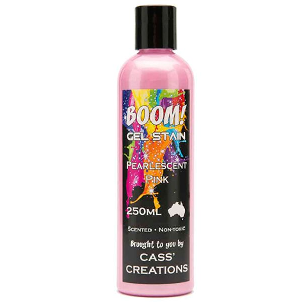 Boom Gel Stain Pearlescent Pink