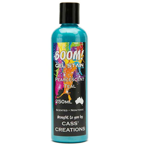 Boom Gel Stain Pearlescent Teal